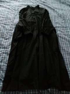 闊身文青黑裙 韓國