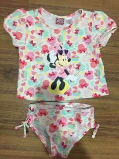 Minnie Mouse Girl's Swimming Suit