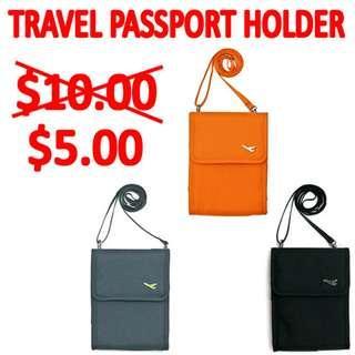 TST015 Travelus Folder Organizer Passport Sling Bag