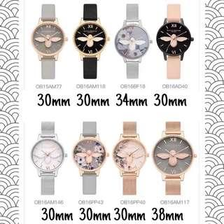 🚚 Olivia Burton Busy Bees Collection