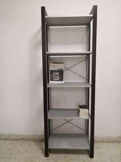 Minimalist design shelving unit