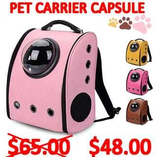 TPE026 Brand New Fashion Pet Carrier Capsule for dog & cats
