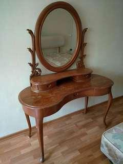 Antique Teak Wood Dressing Table