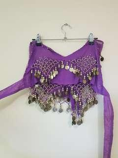 Purple Belly Dancing Outfit