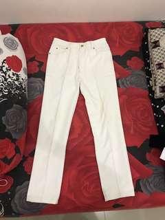 Celana putih lee uk 29-30