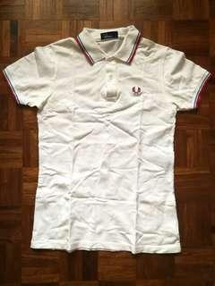 Fred Perry Polo Shirt - Men's Sz S