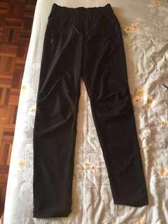 H&M Dri-Fit Black Long Gym Pants