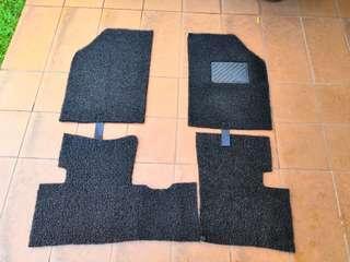 Shorty5 Custom Coil Mat for Perodua Bezza