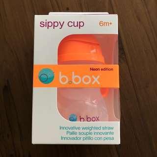 (包郵) 全新b box sippy cup 飲管杯