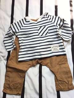 PRELOVED H&M Baby Set