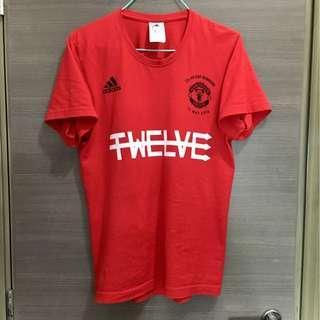 曼聯 2016 足總盃冠軍 紀念 T-Shirt Tee 波衫 球衣 adidas jersey