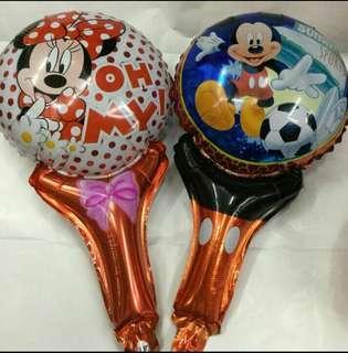 Foil character hammer baloon, pingpong