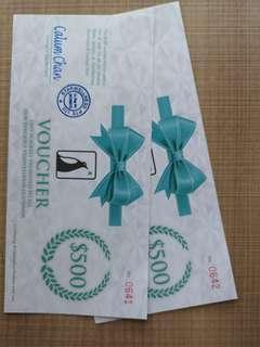 Star water $1000 vouchers