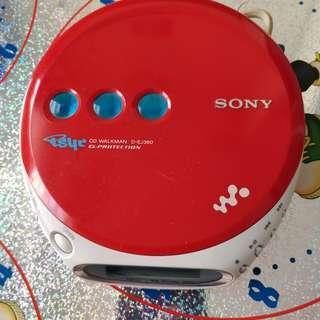 SONY D-EJ360 CD 播放機