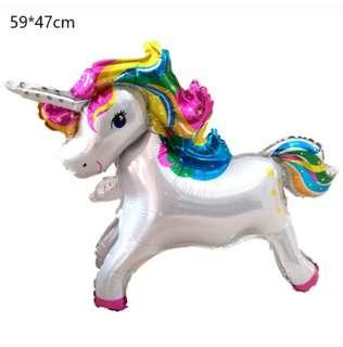 Unicorn shape baloon 12 inch
