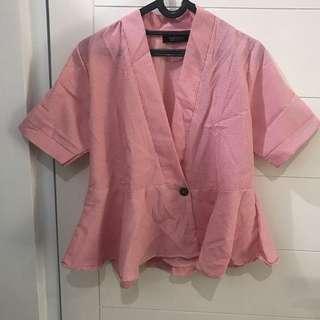 Kemeja / kimono garis-garis