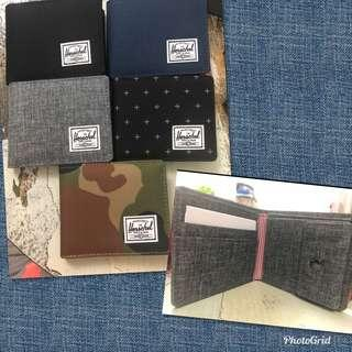 Herschel 銀包wallet 帶散子位(新款側開) side open coins 100% real and new from UK