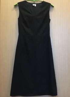 colour連身6號黑點裙