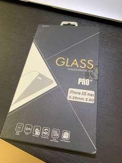 iphone xs max 全透明玻璃貼