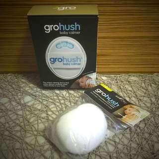 BN Brand New Grohush Gro Hush Baby Calmer with Extra Set of Ear Spare Covers Portable White Noise Baby Infant Soother