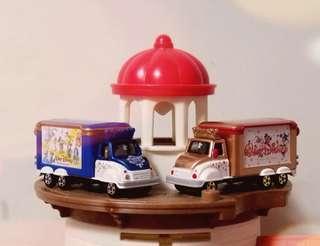 Tomica Disney Vehicle 110th Anniversary 110週年 米奇 貨車 超精美品 限定 販売店 無盒 一對
