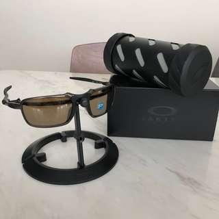 Oakley Badman x Metal Pweter frames 100% authentic RX Prescriptions