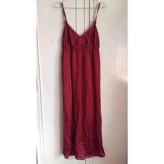 VERA WANG Red Night Gown