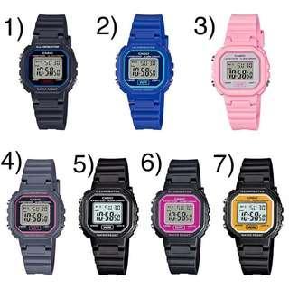 Bn Casio Digital Watch LA-20WH