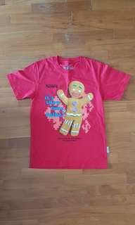 USS printed t-shirt kids M size