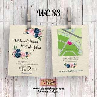 Wedding Card WC33
