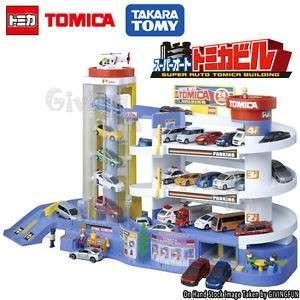 Genuine in box takara tomy tomica playset can connect for 3 sets