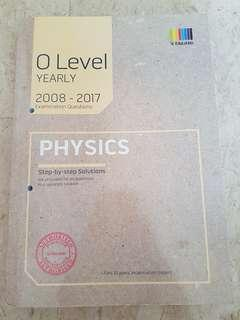 Olevel TYS Physics 2008-2017