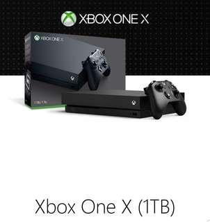 im lookin for used xbox one X 1TB