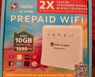 Globe At Home Prepaid Wifi (slightly used)