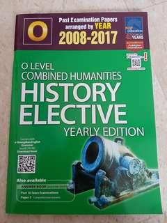 Olevel TYS combined humanities history elect 2008-2017