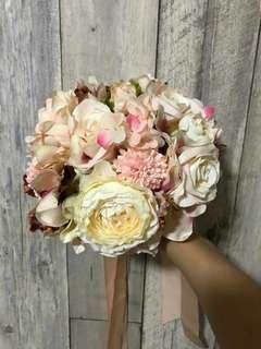 新娘結婚絲花花球