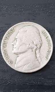 Jefferson Nickel Year 1939