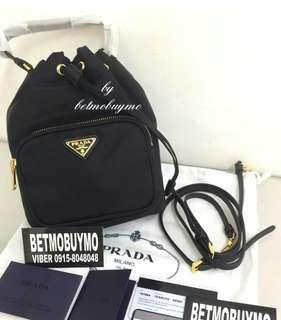 PRADA MINI DRAWSTRING 1N1864 SLING BAG