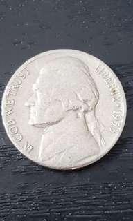 Jefferson Nickel Year 1953