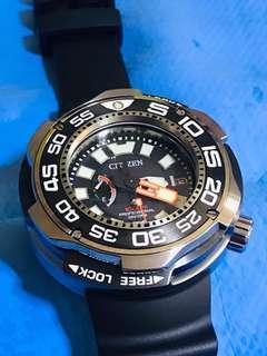Citizen Promaster 1000m BN-7010-17E Eco-Seiko monster like diver watch