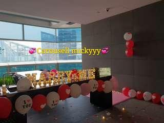 Wedding Proposal Decor For Rent