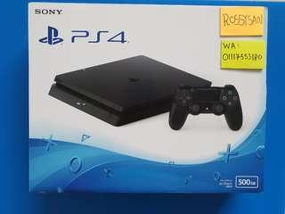 [New & Sealed] Ps4 Slim 500gb