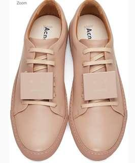 Acne Studio sneaker dusty pink