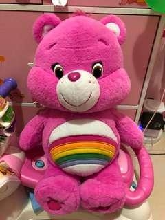 care bear 紫色50cm大公仔