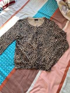 H M今年流行豹紋款式純棉質地柔軟舒服 全新潮人必備
