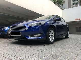 Ford Focus 1.0 Ecoboost Titanium 5-Dr Auto