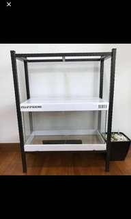 Fish tank metal stand for 2ft tank