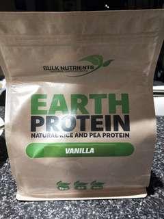 Bulk Nutrients Earth Protein Vanilla