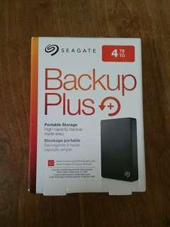 "Seagate 4TB Portable External HDD Hard Disk Drive Backup Plus 4.0 TB external 2.5"" Portable"