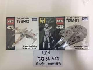 Takara tomy Star Wars 3 pack